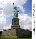 statue of liberty national... | Shutterstock . vector #769366165