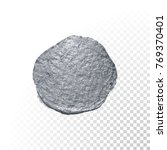 silver paint brush stain or... | Shutterstock .eps vector #769370401