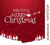 merry christmas banner   Shutterstock .eps vector #769373719