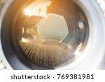 camera lens with lense... | Shutterstock . vector #769381981