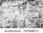 grunge black and white pattern. ... | Shutterstock . vector #769388071