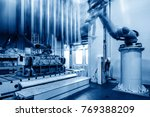 modern car production line  is... | Shutterstock . vector #769388209