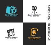 photography logo set vector | Shutterstock .eps vector #769392691