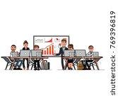 business men and women   Shutterstock .eps vector #769396819