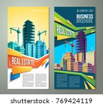 vector flyer  banner  day urban ... | Shutterstock .eps vector #769424119