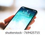 nova bana  slovakia   nov 28 ... | Shutterstock . vector #769425715