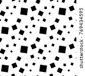 white and black geometric... | Shutterstock .eps vector #769434595