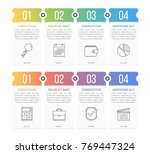 set of infographic elements...