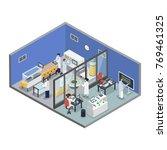 pharmaceutical innovations... | Shutterstock .eps vector #769461325