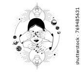 vector hand drawn illustration...   Shutterstock .eps vector #769485631