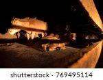 after a heavy rainstorm  the...   Shutterstock . vector #769495114