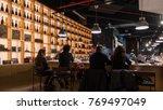 bologna  italy   circa december ... | Shutterstock . vector #769497049