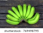 Green Banana Or Unripened...