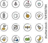 line vector icon set  ...   Shutterstock .eps vector #769500784