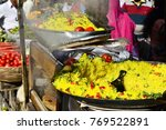 indian traditional dish poha ... | Shutterstock . vector #769522891