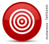 target icon isolated on special ... | Shutterstock . vector #769531441