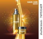 collagen vitamin skin care... | Shutterstock .eps vector #769531609