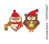 template of christmas holiday... | Shutterstock .eps vector #769554667
