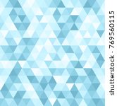 seamless background with blue... | Shutterstock .eps vector #769560115