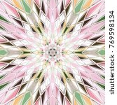 colorful diamons shape abstract ... | Shutterstock . vector #769598134
