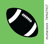 american football ball   vector ... | Shutterstock .eps vector #769627417
