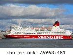 helsinki finland september 25... | Shutterstock . vector #769635481