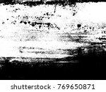 abstract distress floor  black... | Shutterstock .eps vector #769650871