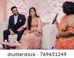 indian groom in classy western... | Shutterstock . vector #769651249