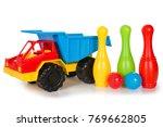 multicolored plastic toys | Shutterstock . vector #769662805