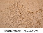 mud wall cracked and old from... | Shutterstock . vector #769665991