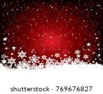 abstract christmas background. | Shutterstock . vector #769676827