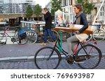 amsterdam  netherlands  ...   Shutterstock . vector #769693987