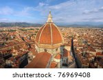 Aerial View Of The Dome Of...
