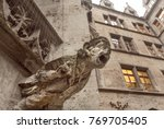 Screaming Grotesque Carved...