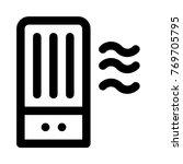 air purifier machine   Shutterstock .eps vector #769705795