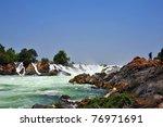 Khone Phapheng Waterfall ...