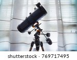 home telescope with equatorial...   Shutterstock . vector #769717495