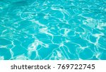 beautiful ripple wave and blue... | Shutterstock . vector #769722745