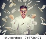 young elegant and smart man...   Shutterstock . vector #769726471