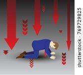 vector illustration business... | Shutterstock .eps vector #769729825