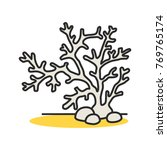 aquarium plant color icon.... | Shutterstock .eps vector #769765174