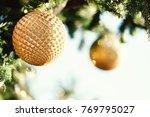 christmas beautiful geometric...   Shutterstock . vector #769795027