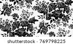 seamless floral pattern in... | Shutterstock .eps vector #769798225