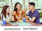 students asian group together... | Shutterstock . vector #769798927