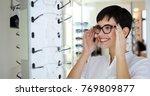health care  eyesight and... | Shutterstock . vector #769809877
