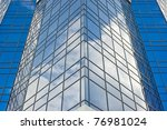 architecture.surface of glass... | Shutterstock . vector #76981024