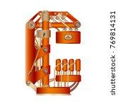 the letter c of the latin... | Shutterstock .eps vector #769814131