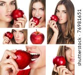 collage of several photos for...   Shutterstock . vector #76981651