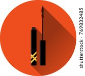 mascara flat design makeup icon ... | Shutterstock .eps vector #769832485