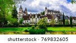 famous castles of loire valley  ... | Shutterstock . vector #769832605